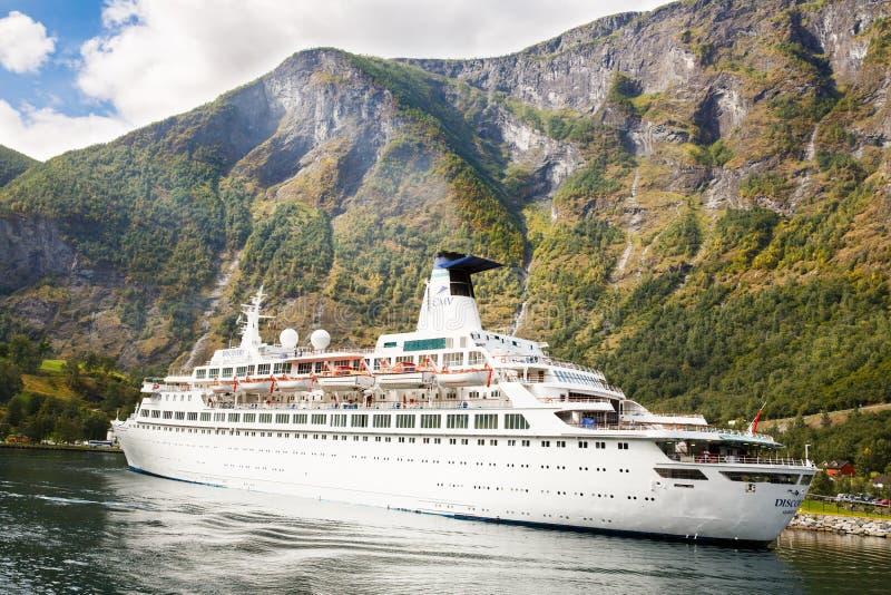 rejsu Norway statek obraz stock