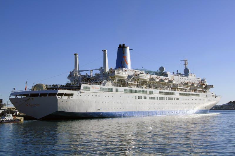 rejsu portu statek zdjęcie royalty free
