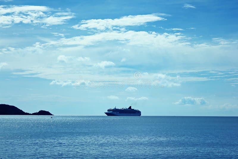 Rejsy parkują w morzu fotografia stock