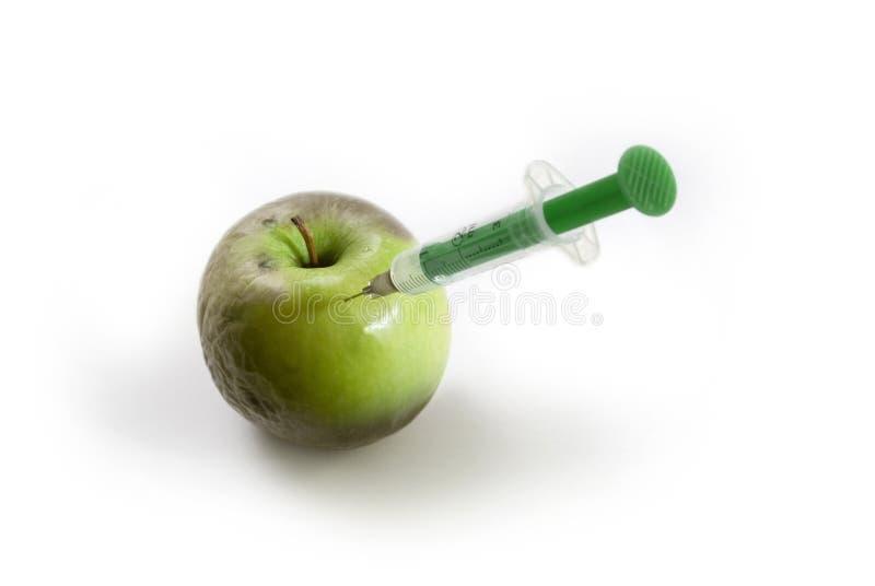 Rejuvenated Apple White Stock Photography