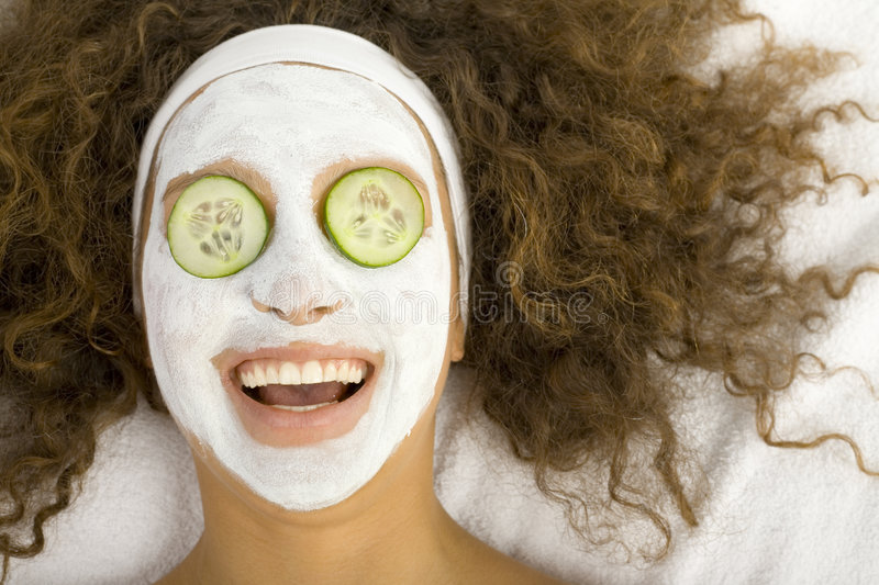 Download Rejuvenescent mask stock image. Image of beautiful, covering - 3216297