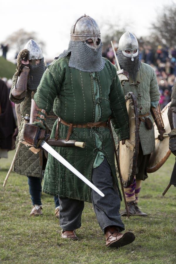 Rekawka - Poolse die traditie, in Krakau op Dinsdag na Pasen wordt gevierd royalty-vrije stock afbeeldingen
