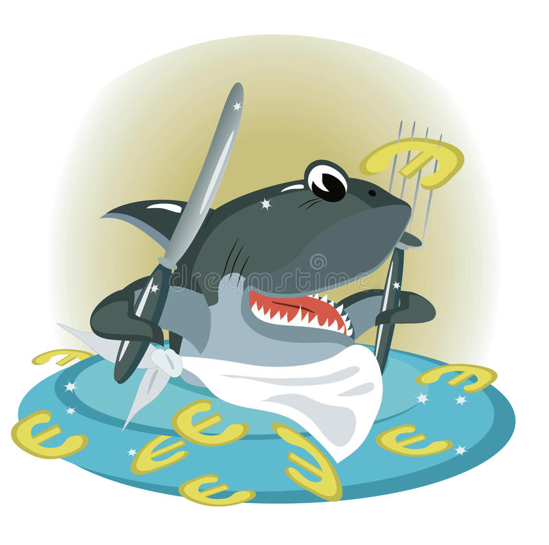 rekin ilustracja wektor