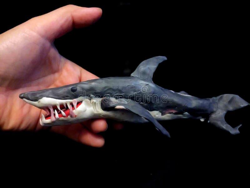 Rekin gliny model zdjęcia royalty free