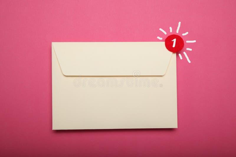 Reklama adresu korespondencja, pusta karta target31_1_ obrazy stock