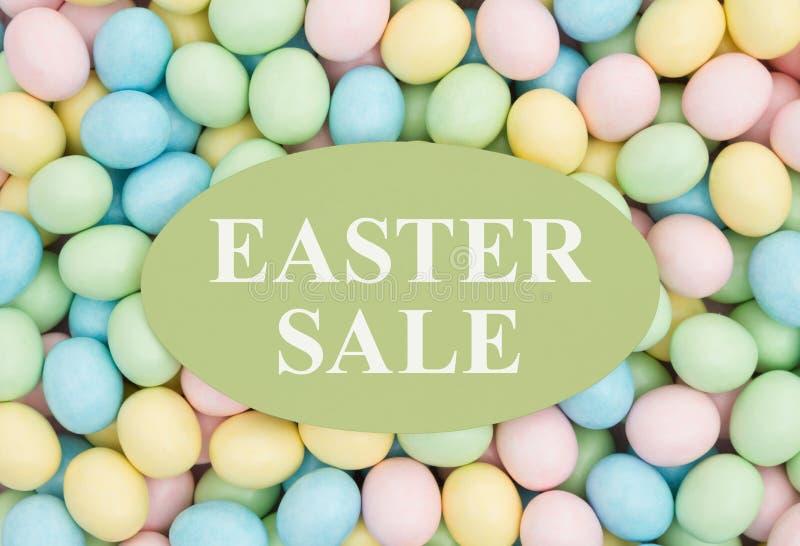 Reklama dla Wielkanocnej sprzedaży zdjęcia stock