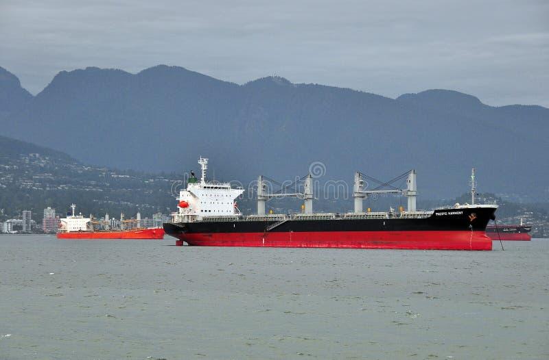 Reklama statki dostarcza ładunek, roaring25 zdjęcie stock