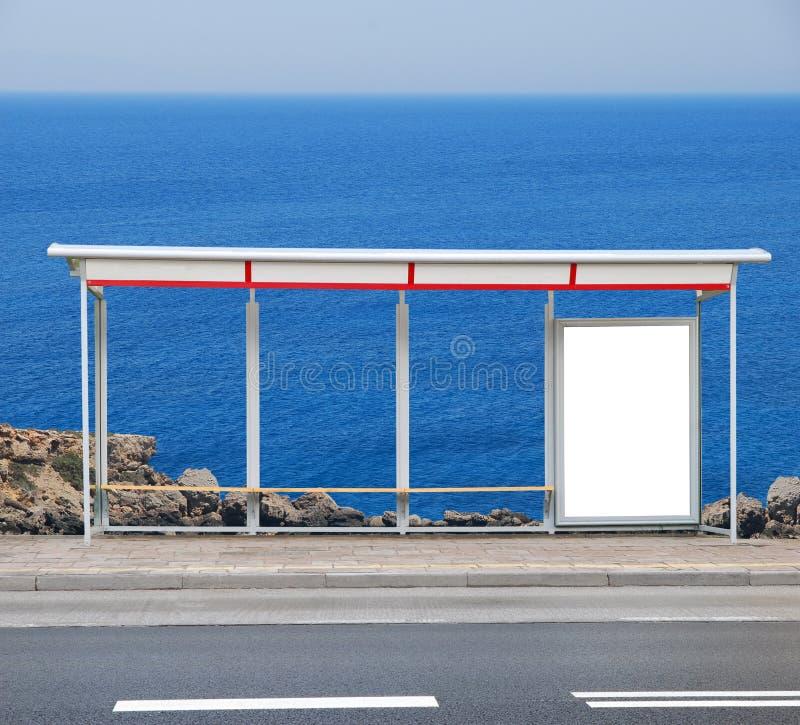 reklamowa deskowa autobusowa przerwa obraz stock