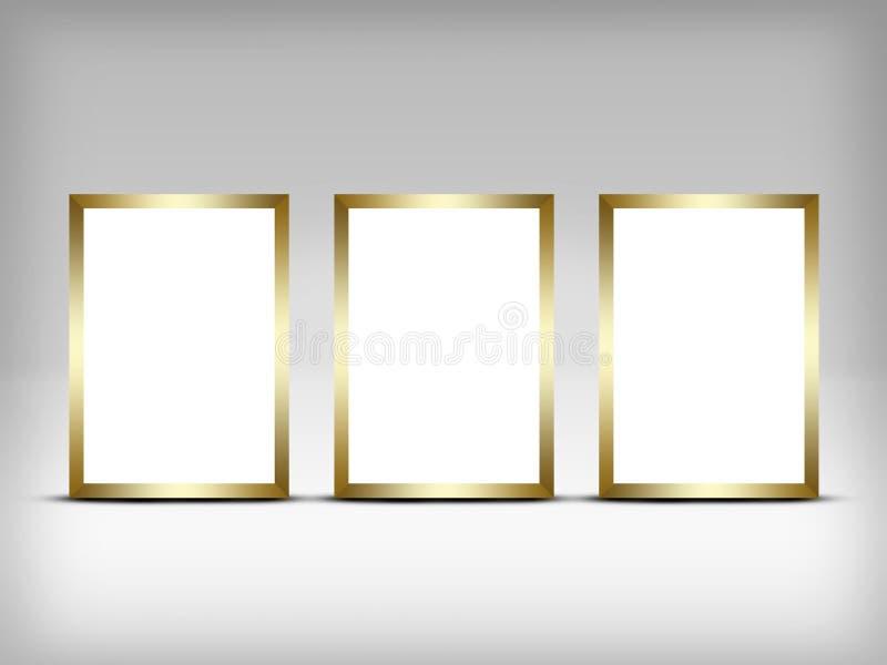 reklamowego ślepej billboardu znaku przestrzeni Rama dla ilustracji
