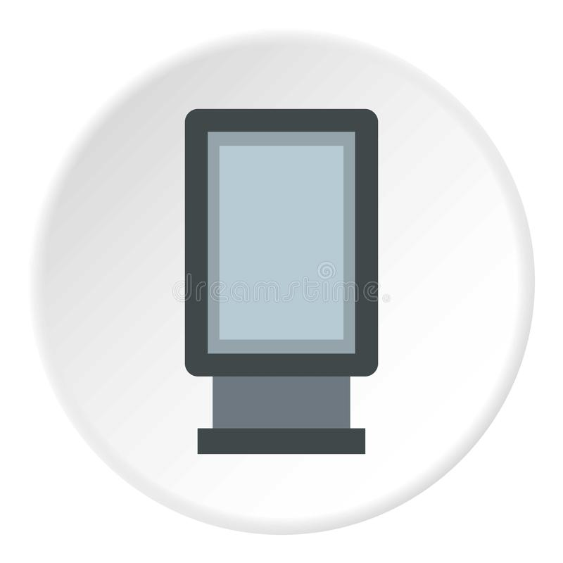 Reklamowego znaka ikona, mieszkanie styl ilustracji