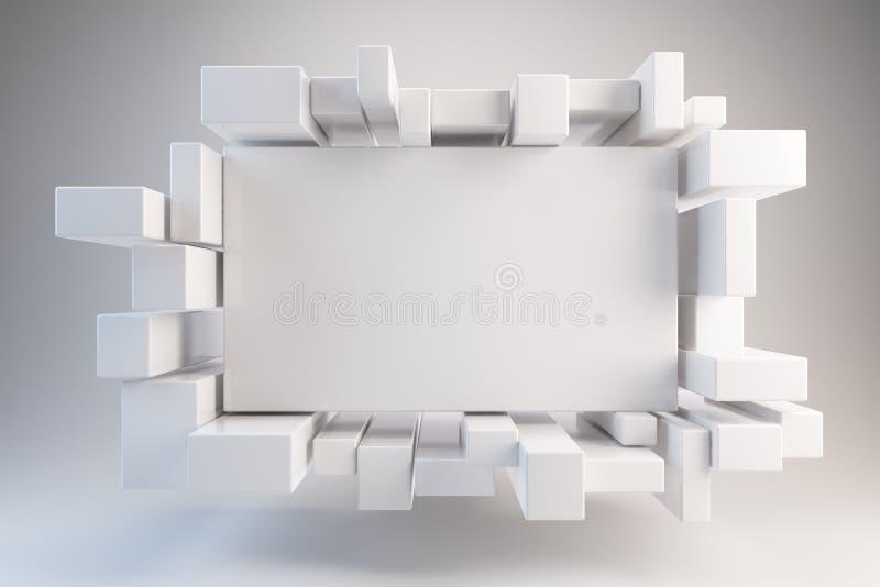 Reklamy deska ilustracja wektor