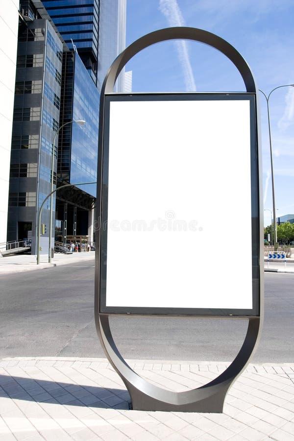 reklamy przestrzeń obrazy stock