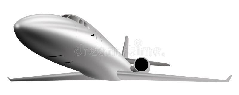 reklamy strumienia światła samolot royalty ilustracja