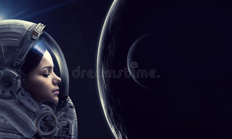 Rekonesansowy kosmos Mieszani ?rodki zdjęcia royalty free