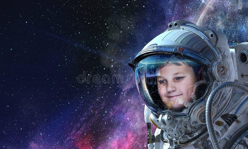 Rekonesansowy kosmos Mieszani ?rodki obraz royalty free