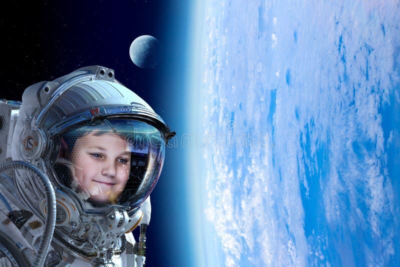 Rekonesansowy kosmos Mieszani ?rodki zdjęcia stock