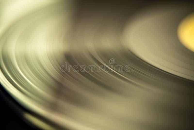 rekord för tappningmusikvinyl royaltyfri fotografi
