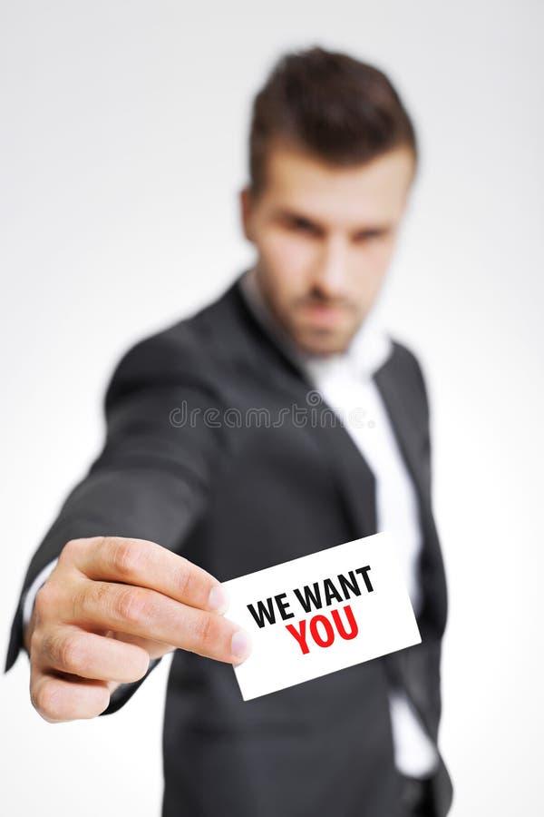 Rekryterare som söker efter den högkvalitativa personalen arkivbilder