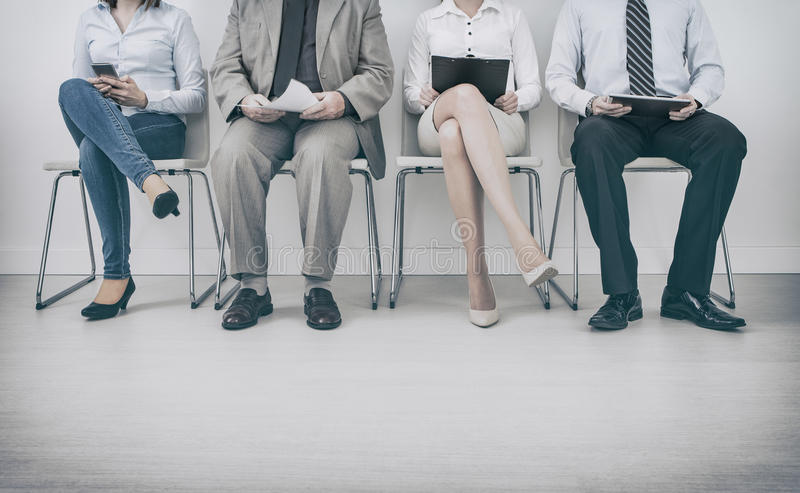 Rekrytering som rekryterar rekryt som hyr hyra - begrepp arkivbild