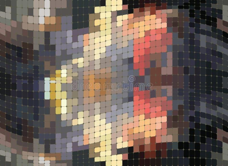Rektangelmodell, abstrakt bakgrund för vektor stock illustrationer