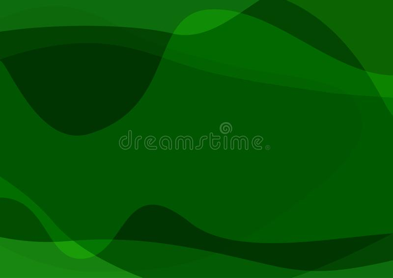 Rektangul?r gr?n modern mall Horisontalabstrakt bakgrund vektor illustrationer