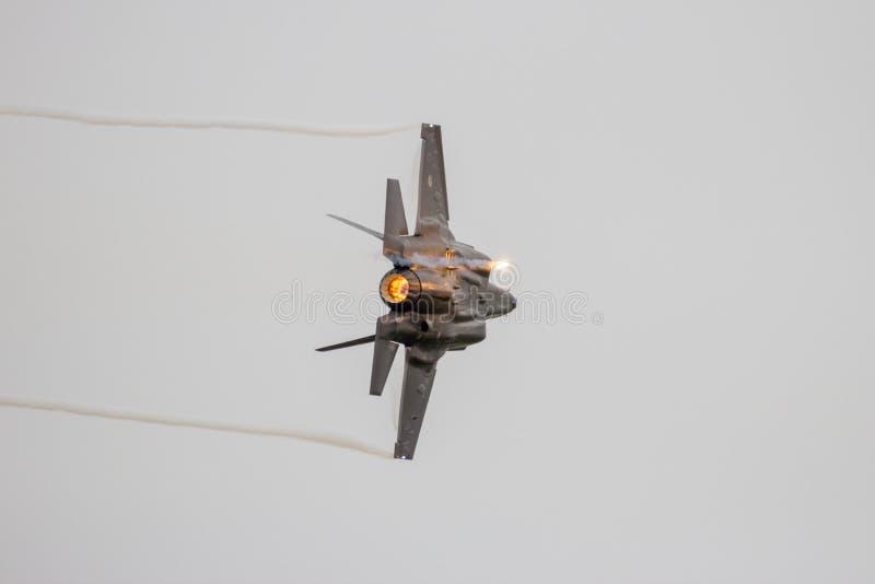 Relámpago II de Lockheed Martin F-35 fotografía de archivo