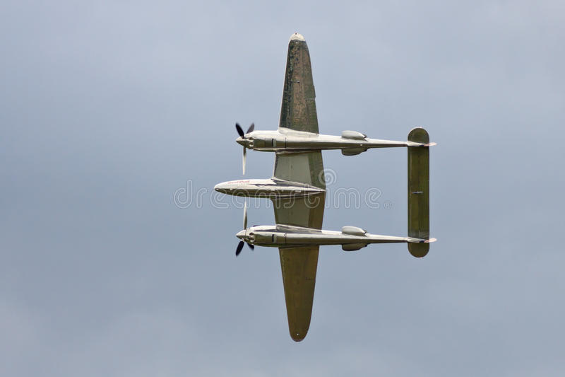 Relámpago P-38 foto de archivo