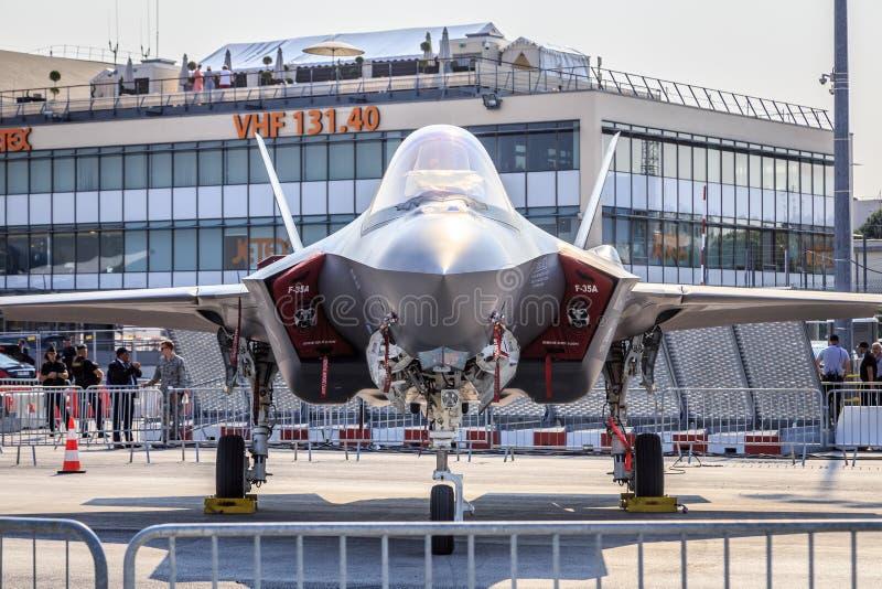 Relâmpago II de Lockheed Martin F-35 foto de stock