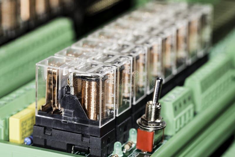 Relés eletromagnéticos imagens de stock royalty free