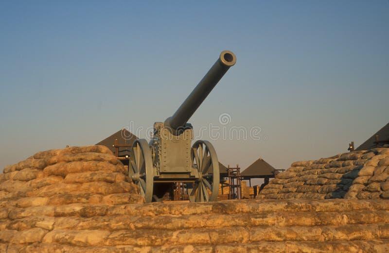 Relíquia da guerra de Boer foto de stock