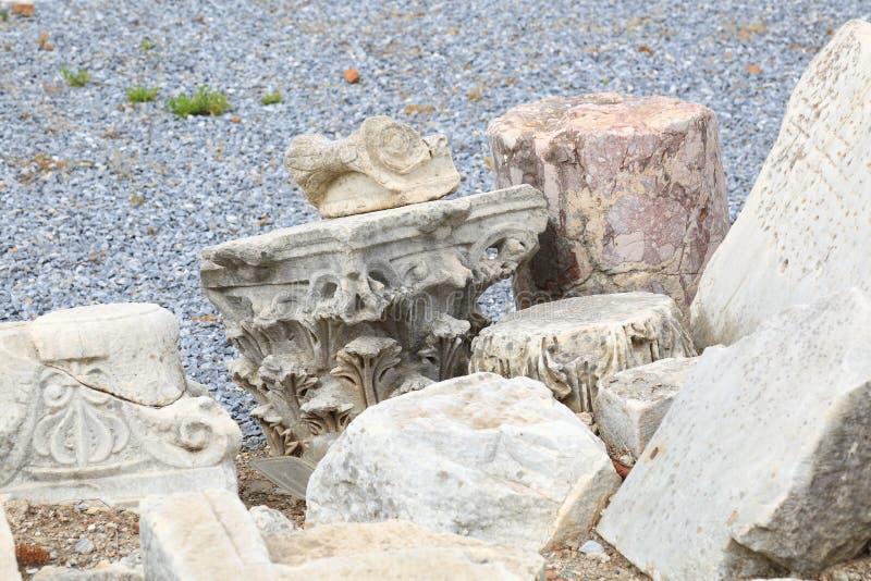Relíquias de Ephesus fotos de stock royalty free
