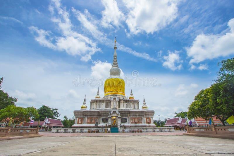 Relíquias no templo de Tailândia fotografia de stock royalty free