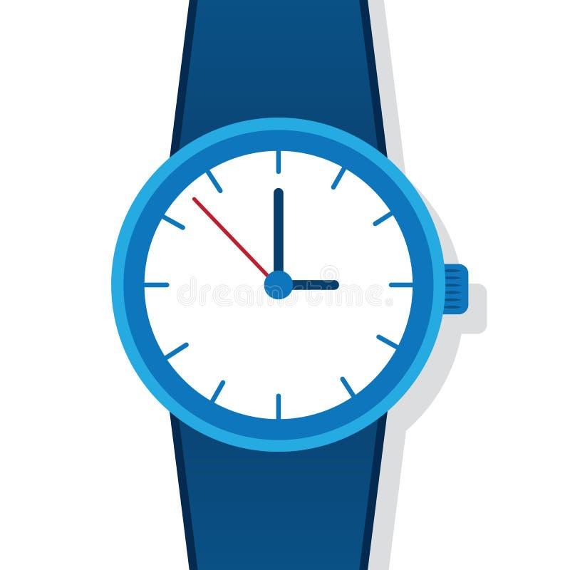 relógio ilustração stock