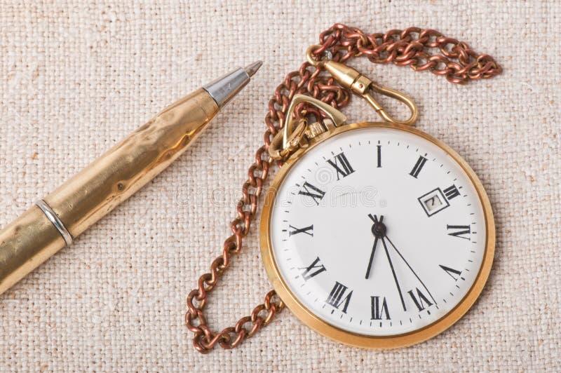 Download Relógio de bolso velho imagem de stock. Imagem de papel - 29843543