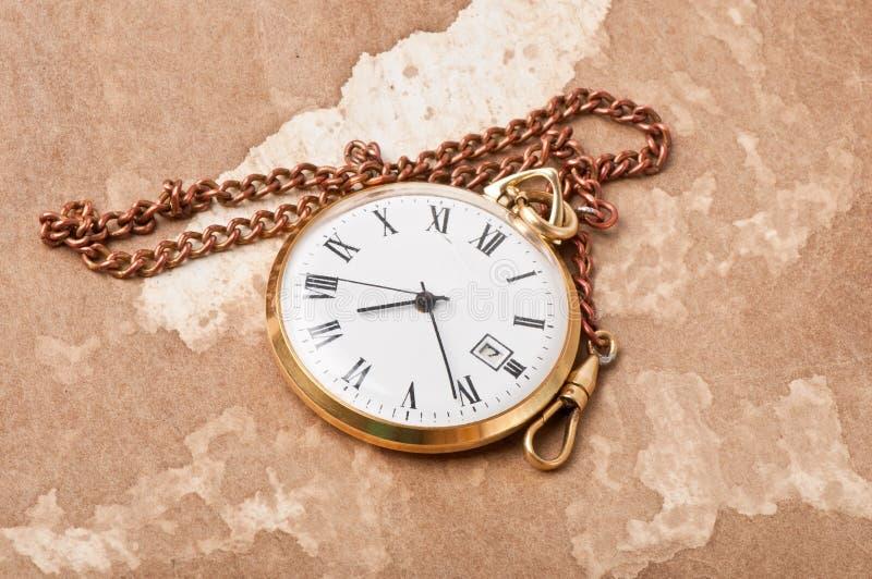 Download Relógio de bolso velho foto de stock. Imagem de elegante - 29843406