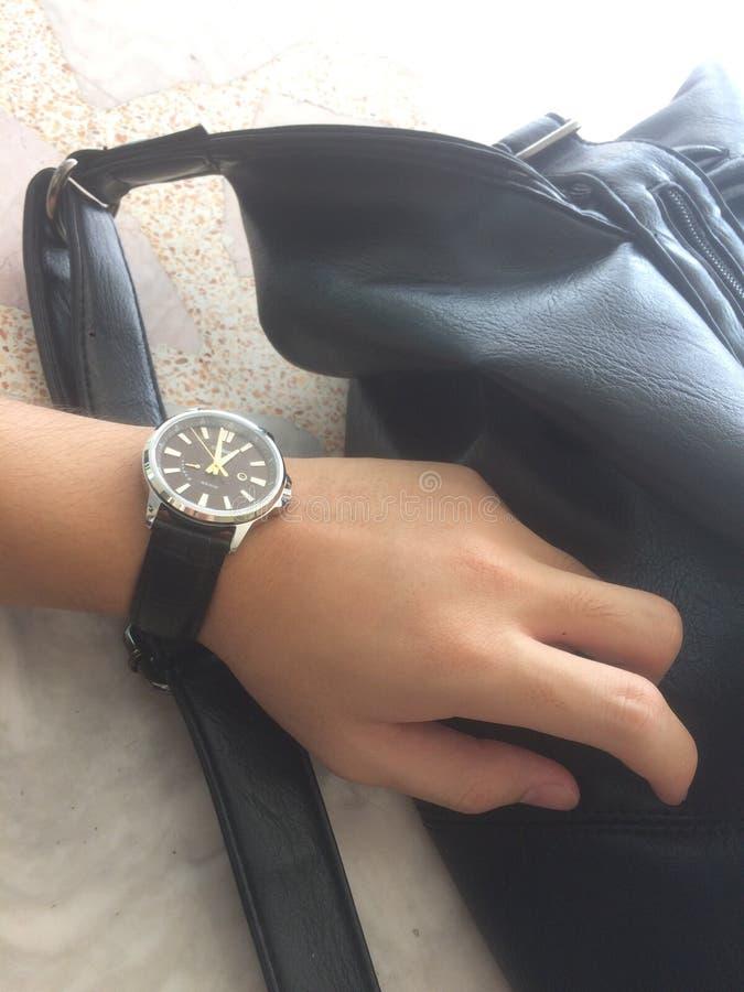Relógio de Casio imagem de stock royalty free