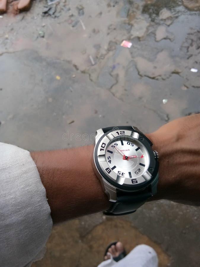 Relógio de Fasreck imagens de stock