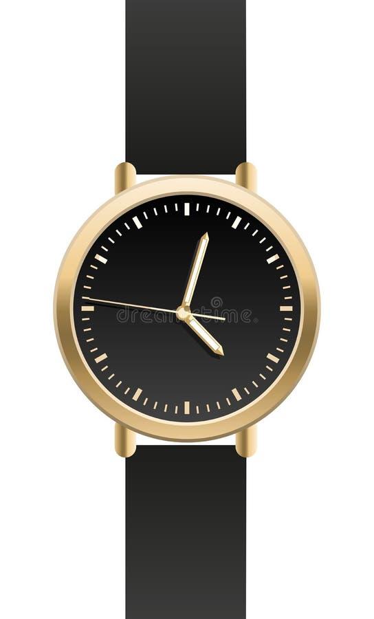 Relógio de pulso ilustração stock