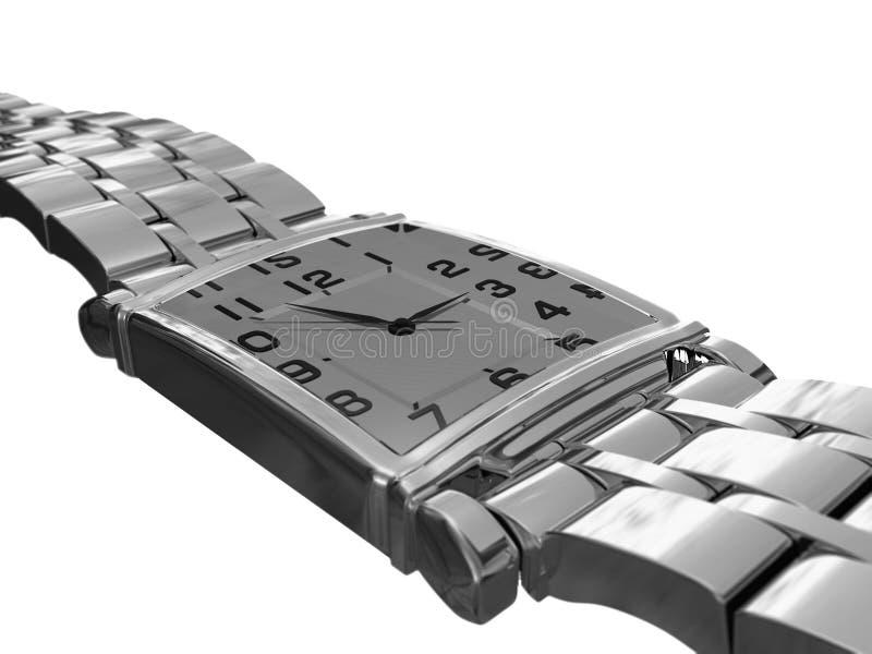 Relógio de pulso dos homens foto de stock