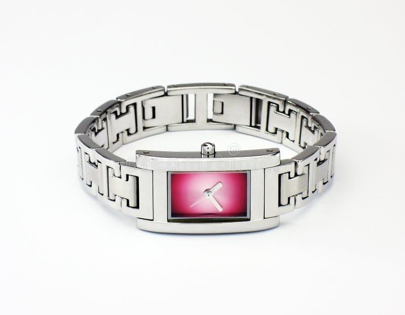 Relógio do bracelete das senhoras imagem de stock