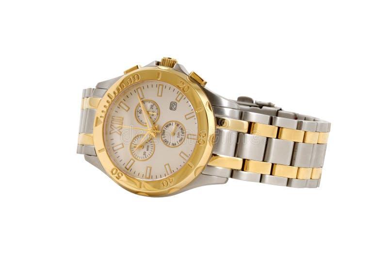 Relógio do homem imagem de stock royalty free