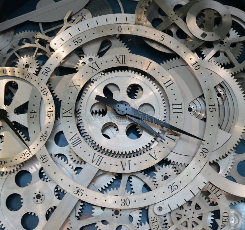 Relógio do interior da engrenagem imagens de stock royalty free