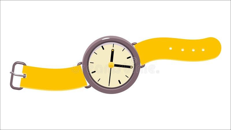 Relógio do vetor, coleção do dodó ilustração do vetor