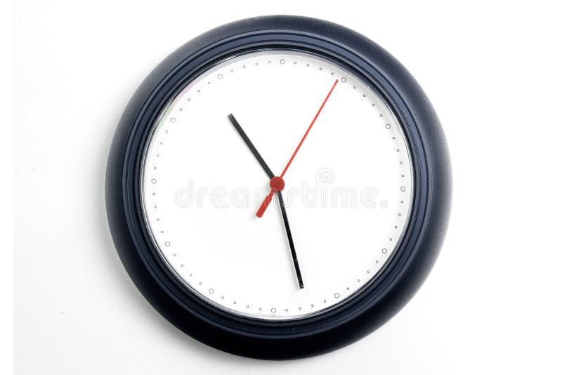 Relógio na parede imagem de stock royalty free