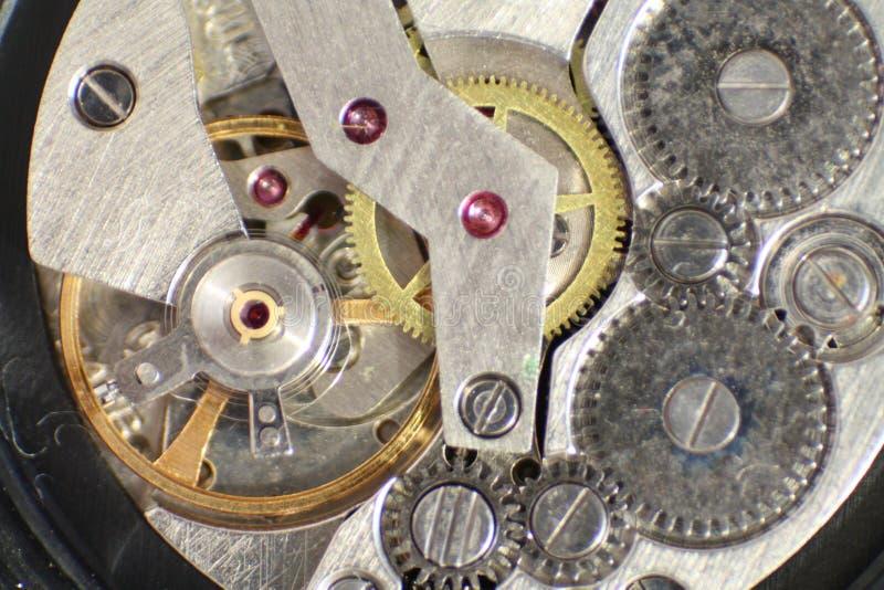 Relógio para dentro imagens de stock