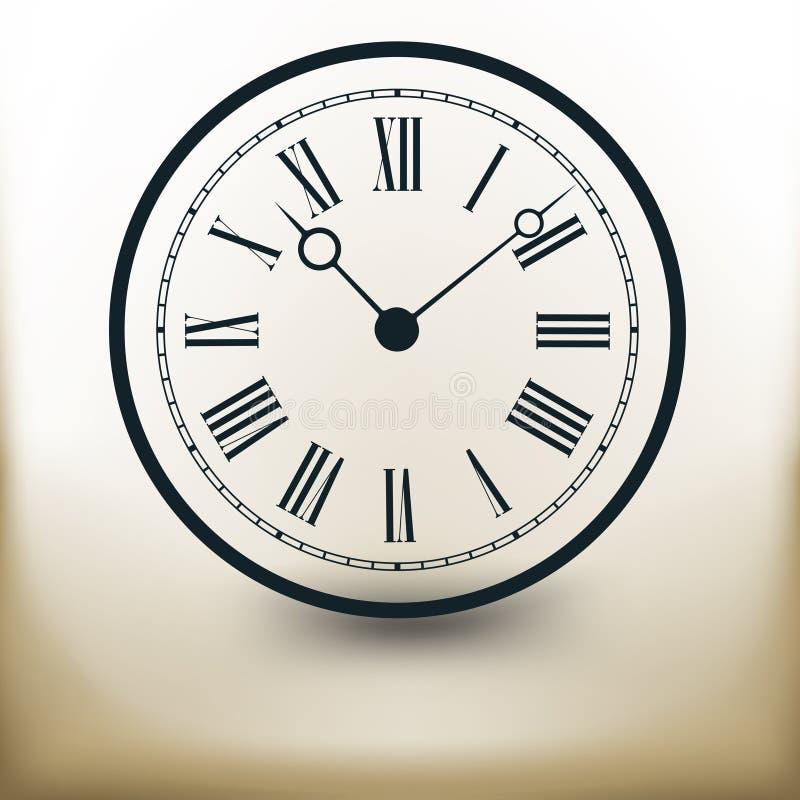Relógio simples ilustração do vetor