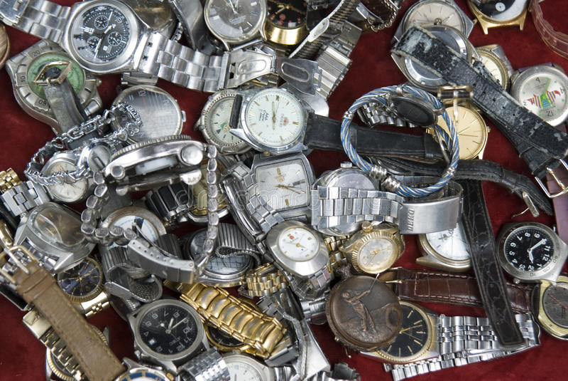 Relógios imagem de stock