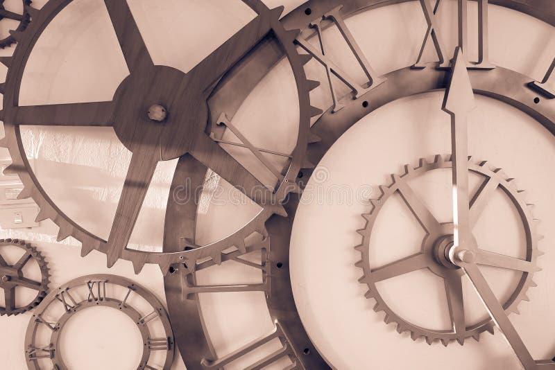 Relógios da réplica na parede fotos de stock royalty free