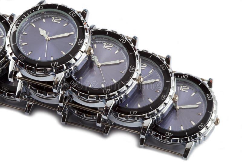 Relógios de pulso fotografia de stock royalty free