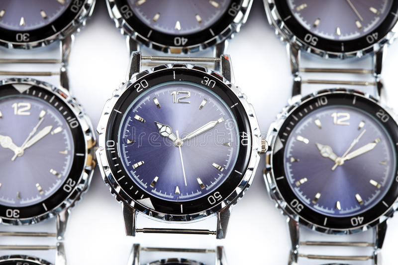 Relógios de pulso fotos de stock